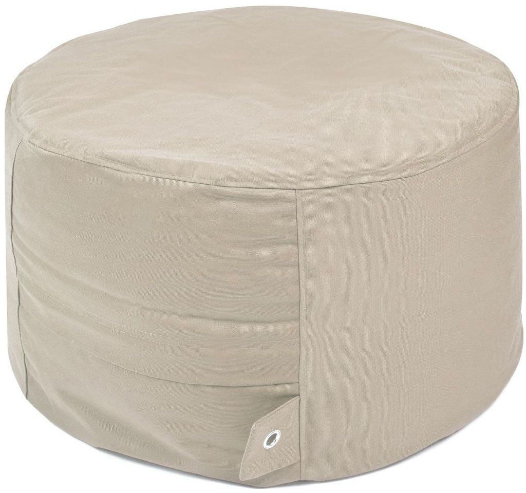 outbag poef rock plus beige