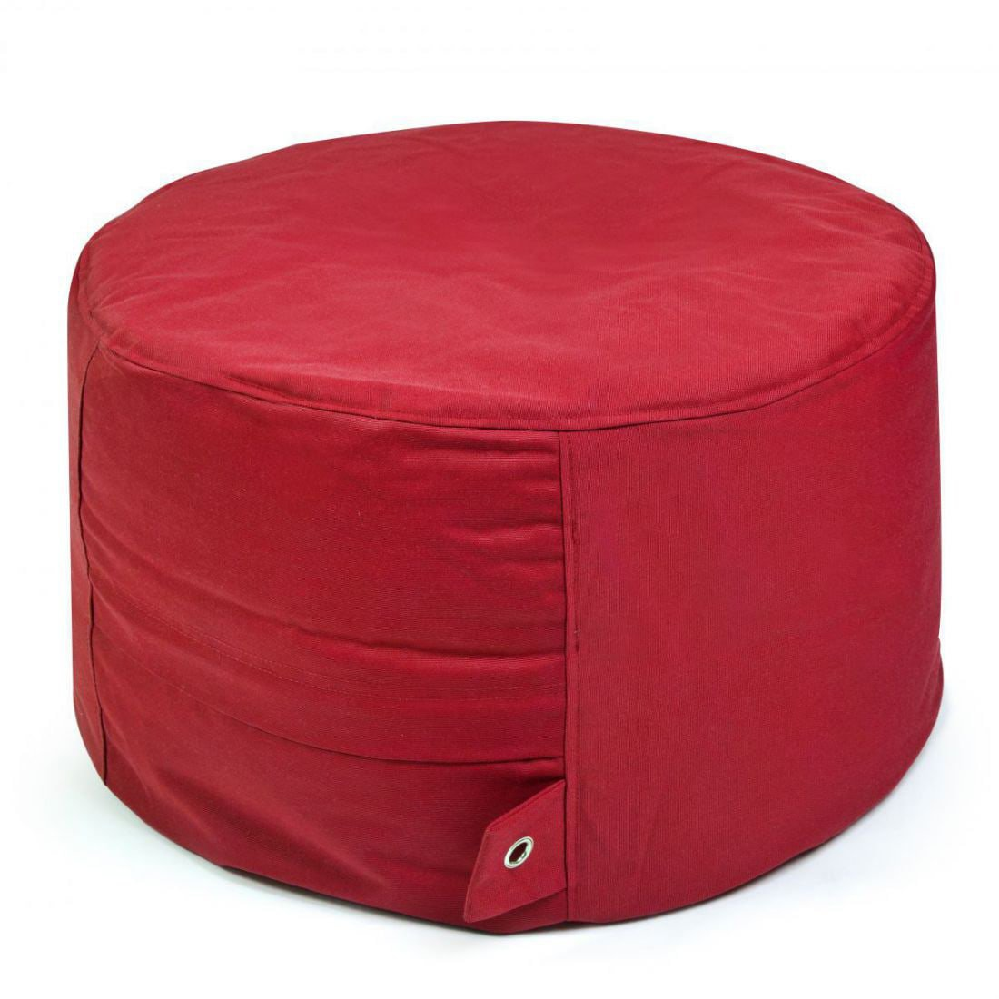 outbag poef rock plus rood