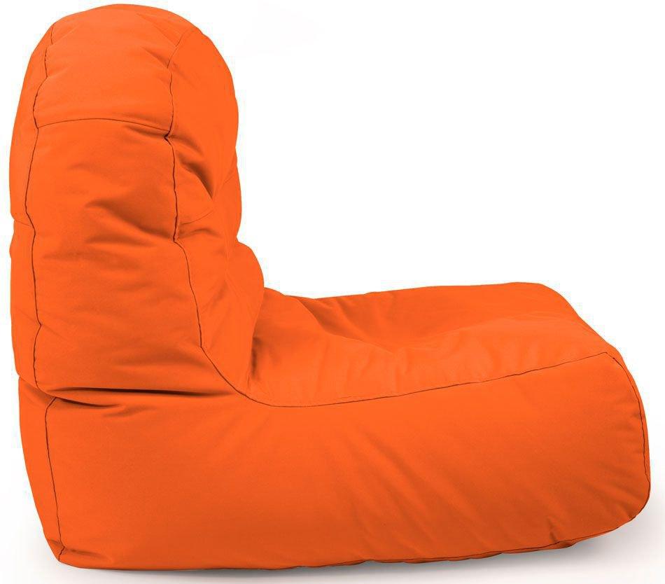 outbag zitzak stoel bridge plus oranje