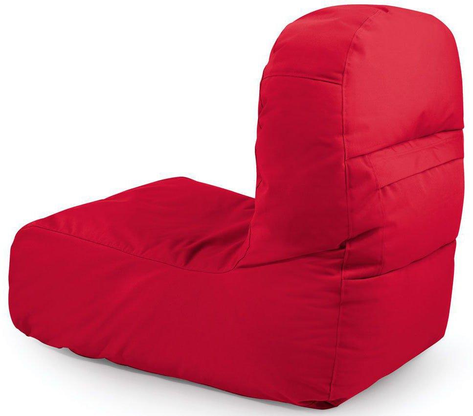 outbag zitzak stoel bridge plus rood