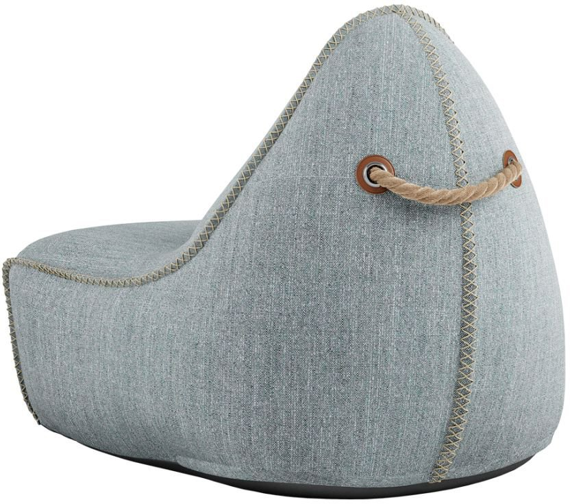 sackit cobana lounge chair pouf zand