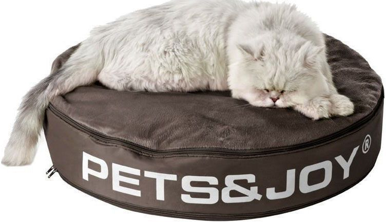 sitjoy cat bed taupe