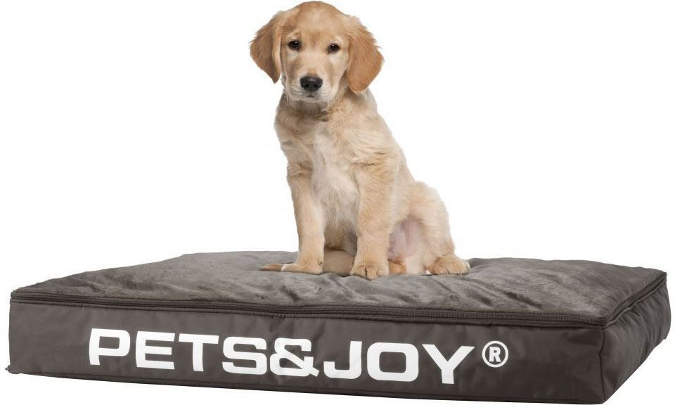 sitjoy dog bed medium taupe