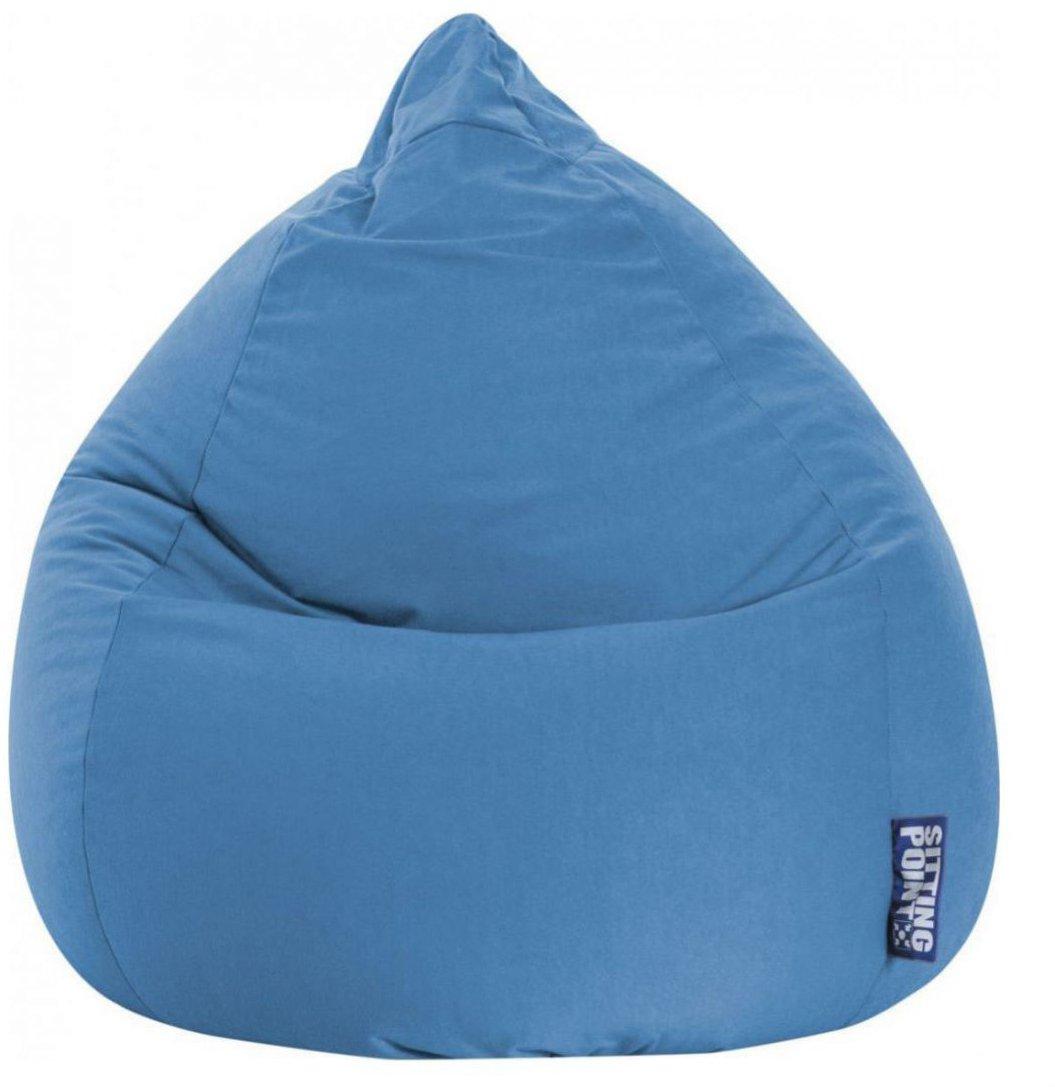 sitting point beanbag easy xl blauw