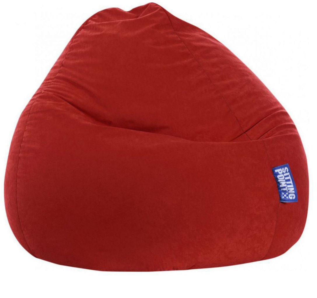 sitting point beanbag easy xxl rood