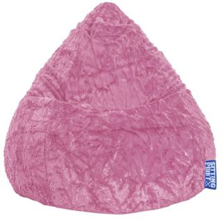 Sitting Point BeanBag Fluffy XL - Roze