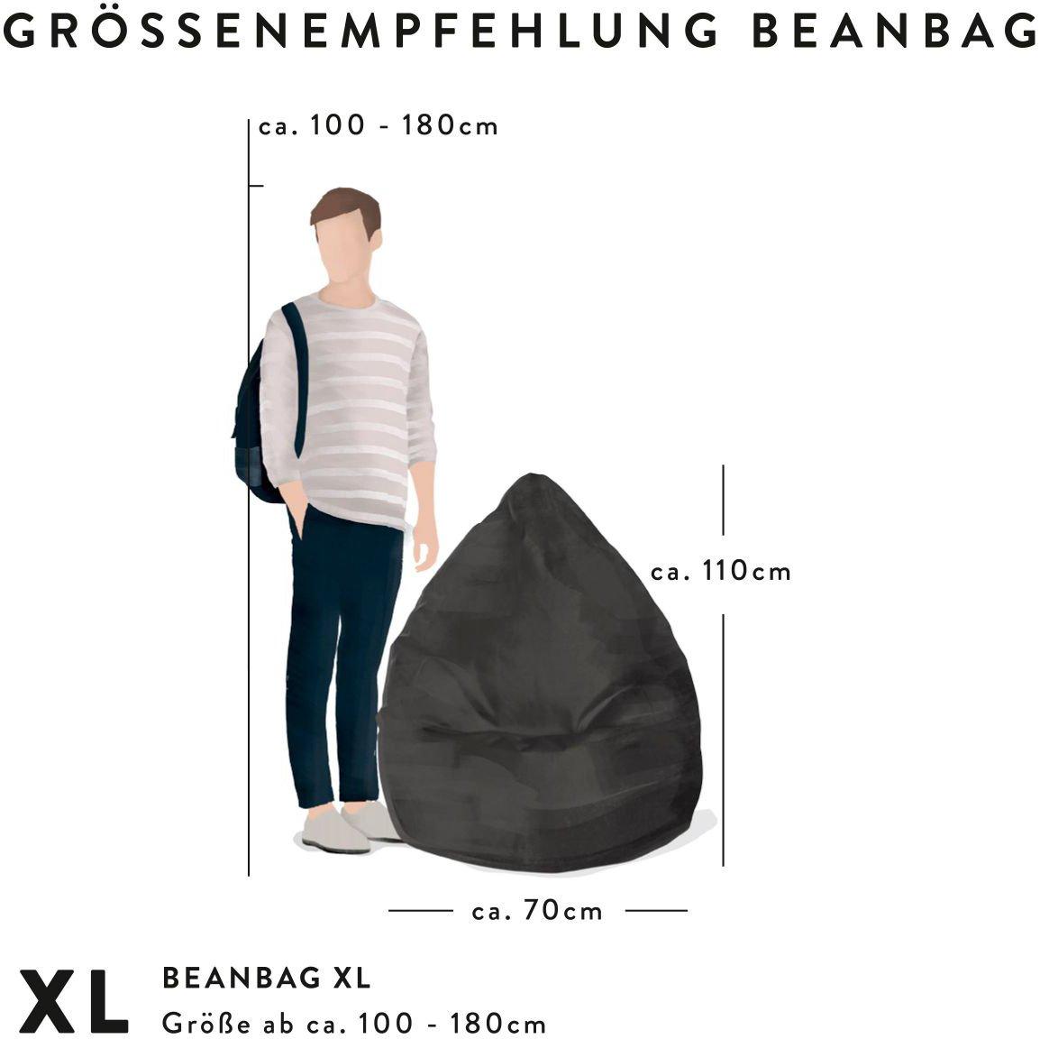 sitting point bigbag karolinaxl beige
