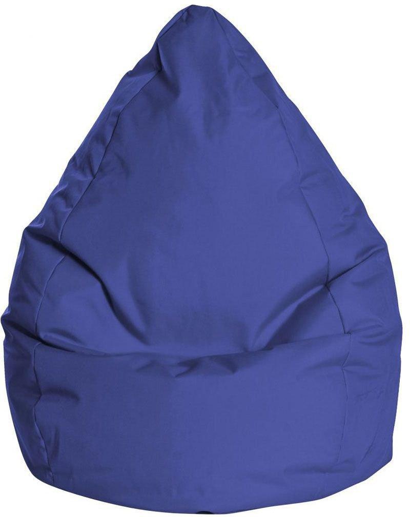 sitting point kinder zitzak beanbag brava l blauw