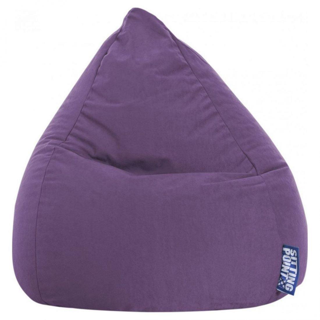 sitting point kinder zitzak beanbag easy l lila