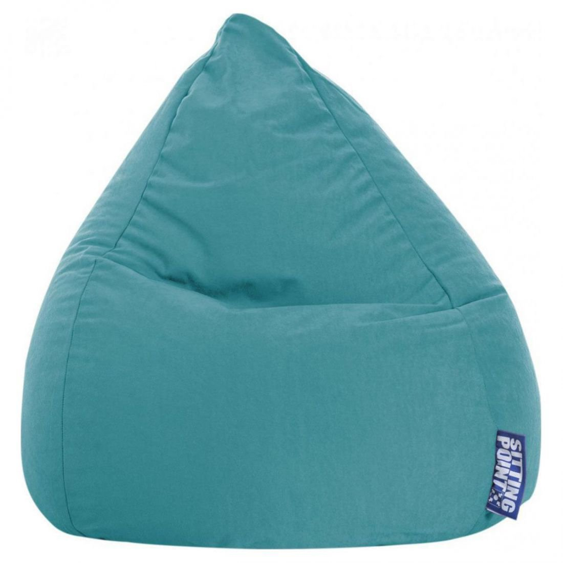 sitting point kinder zitzak beanbag easy l smaragd