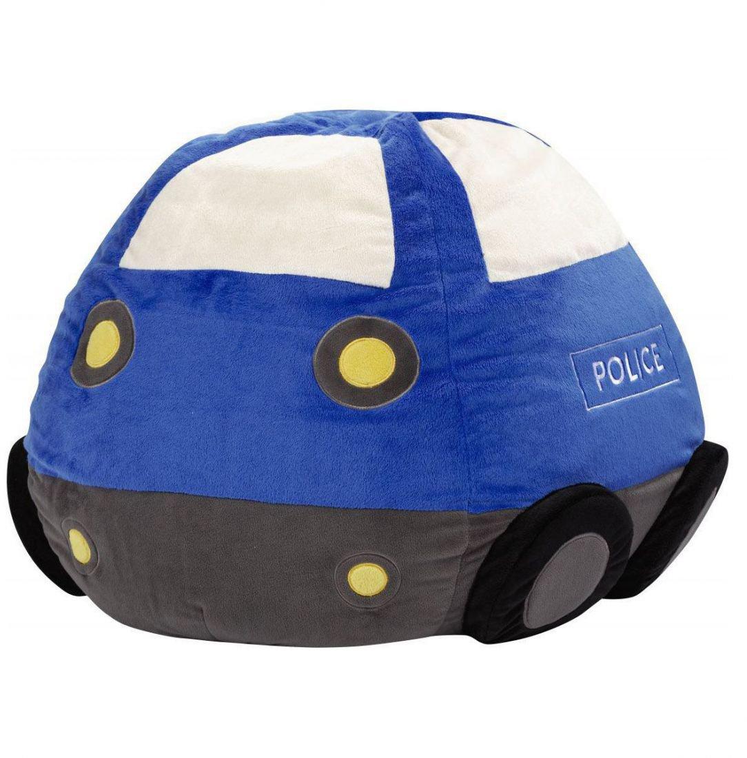 sitting point kinder zitzak beanbag politie blauw