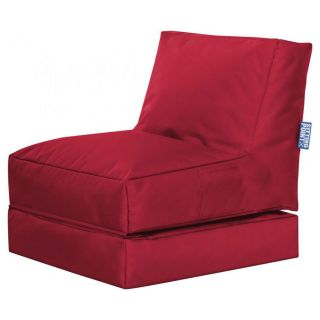 Sitting Point Ligbed Twist Scuba - Rood