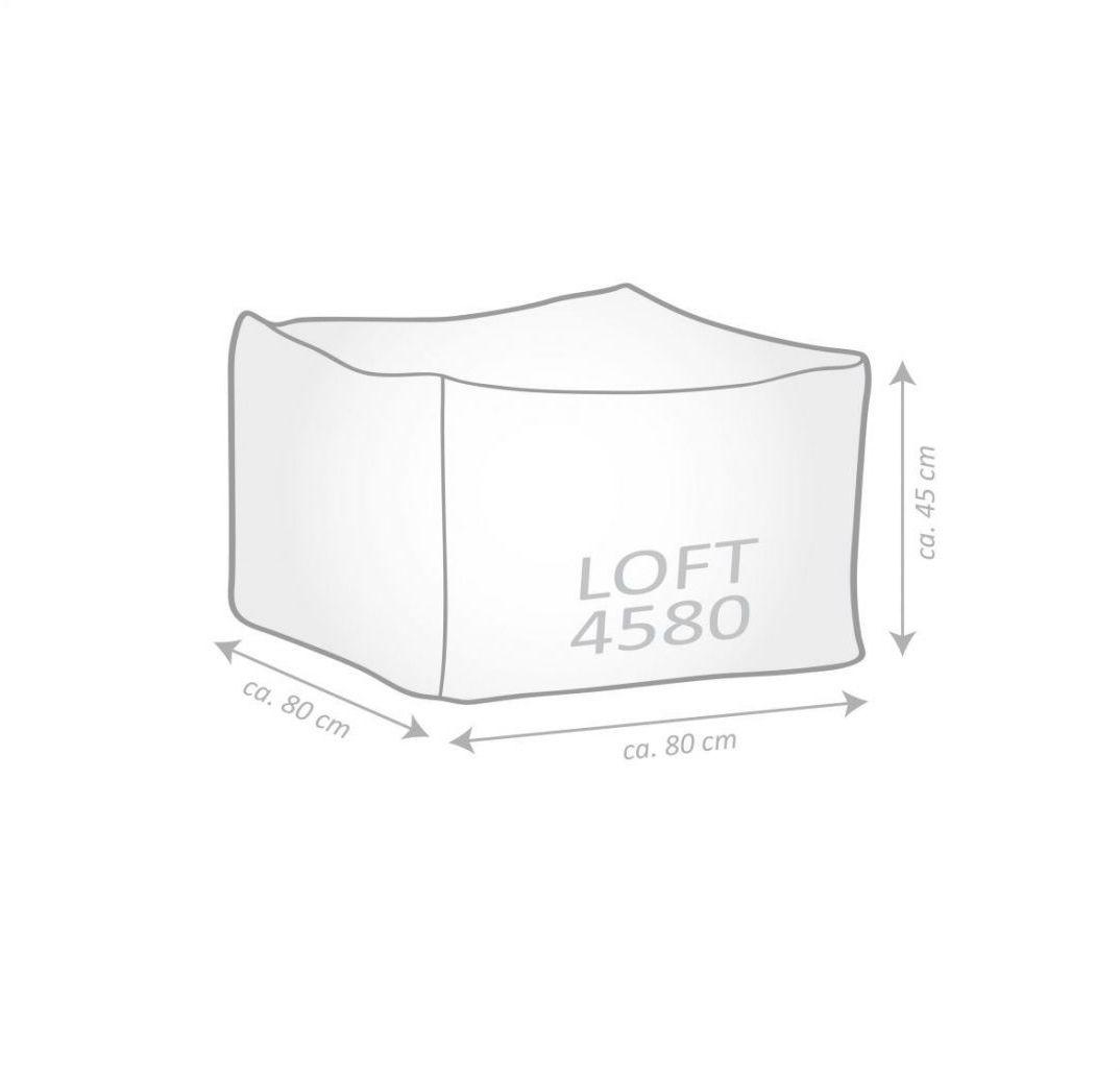 sitting point poef loft yakka beige