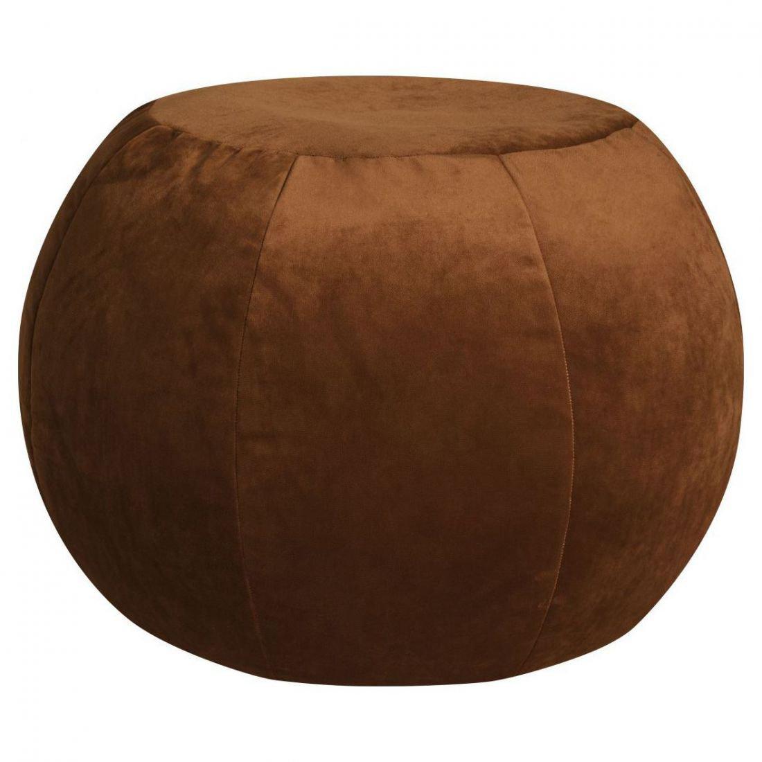 sitting point poef plump veluto koper