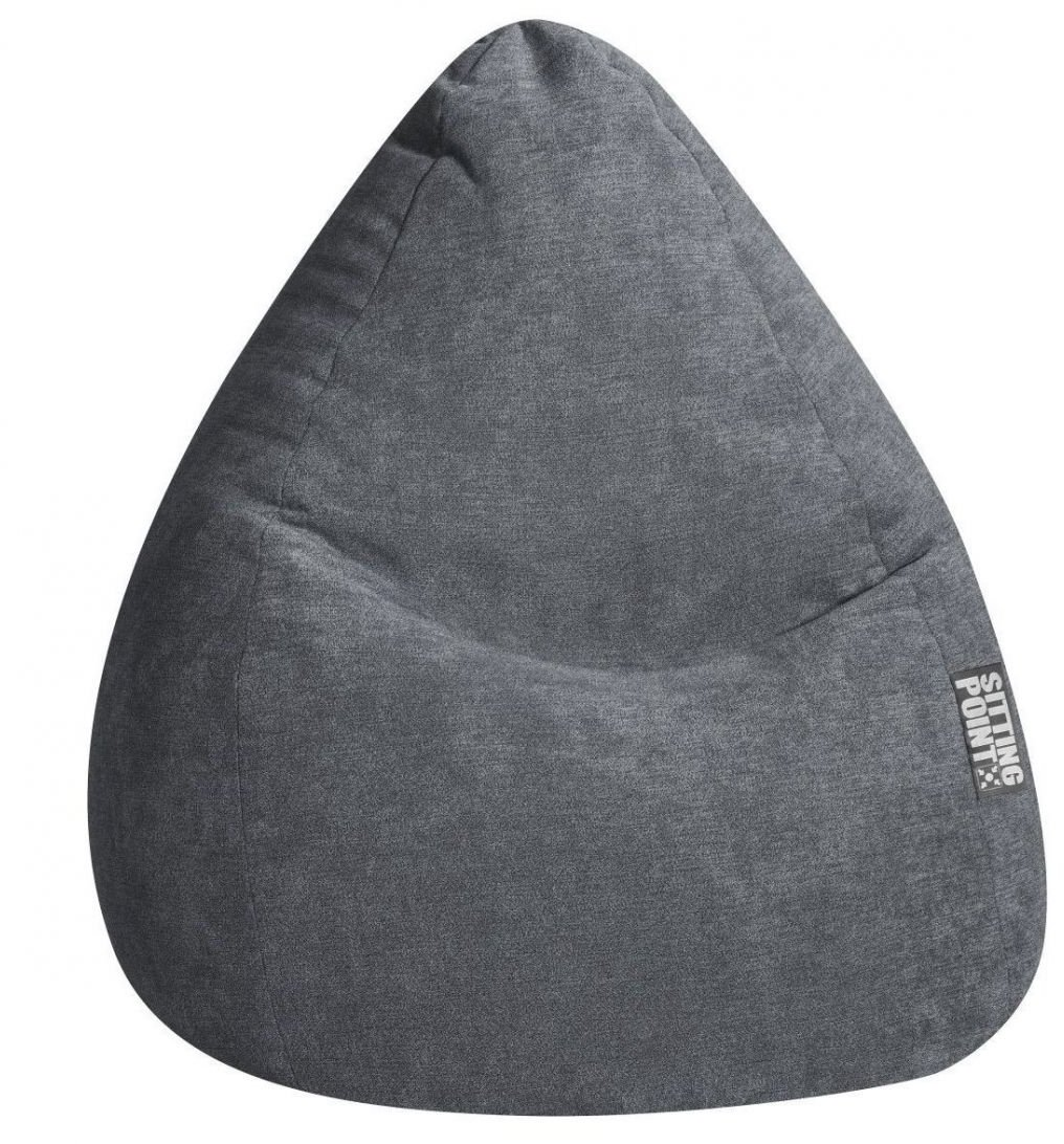 sitting point zitzak beanbag alfa xl grijs
