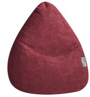 Sitting Point Zitzak BeanBag Alfa XL - Wijnrood
