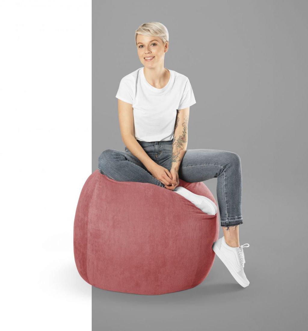 sitting point zitzak beanbag cordone marsala