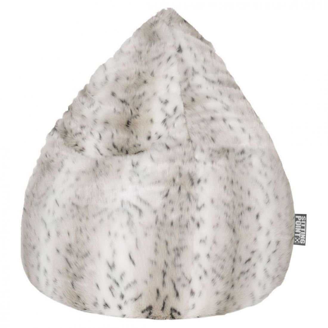 Sitting Point Zitzak BeanBag Skins XL - Sneeuw Lynx