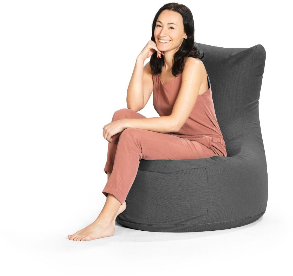 sitting point zitzakstoel swing outside antraciet