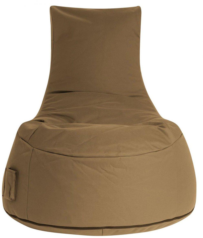 sitting point zitzakstoel swing outside brown