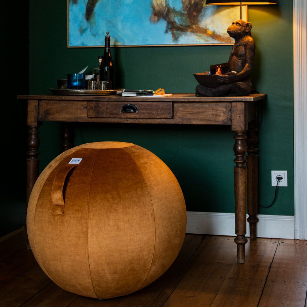 vluv varm zitbal pumpkin 65 cm