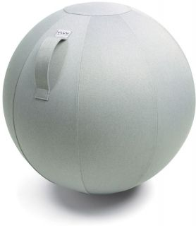 VLUV LEIV Zitbal Zilvergrijs 65 cm