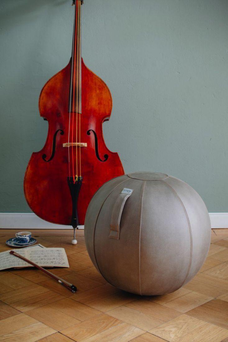 vluv stov zitbal greige 65cm